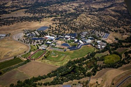Arieal shot of the Butte College main campus.