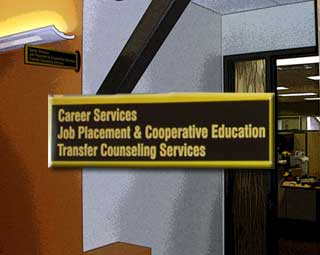 Career Center Entrance
