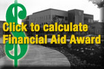 Click to calculate financial aid award