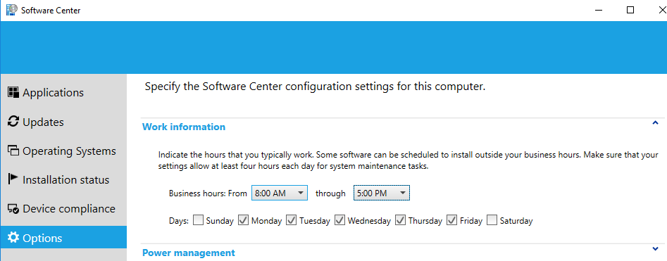 Microsoft System Center Configuration Manager - Butte College