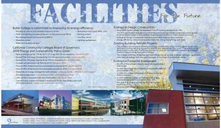 An image of page 6 of the Butte College Sustainability Brochure.